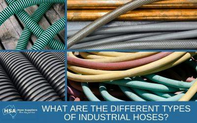 What are the Different Types of Industrial Hoses?