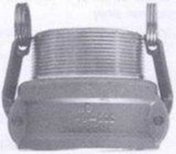 Type B - female coupler with Male BSP
